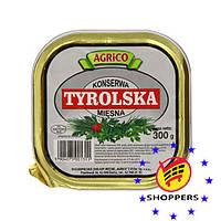Тирольская мясная консерва 300 г.