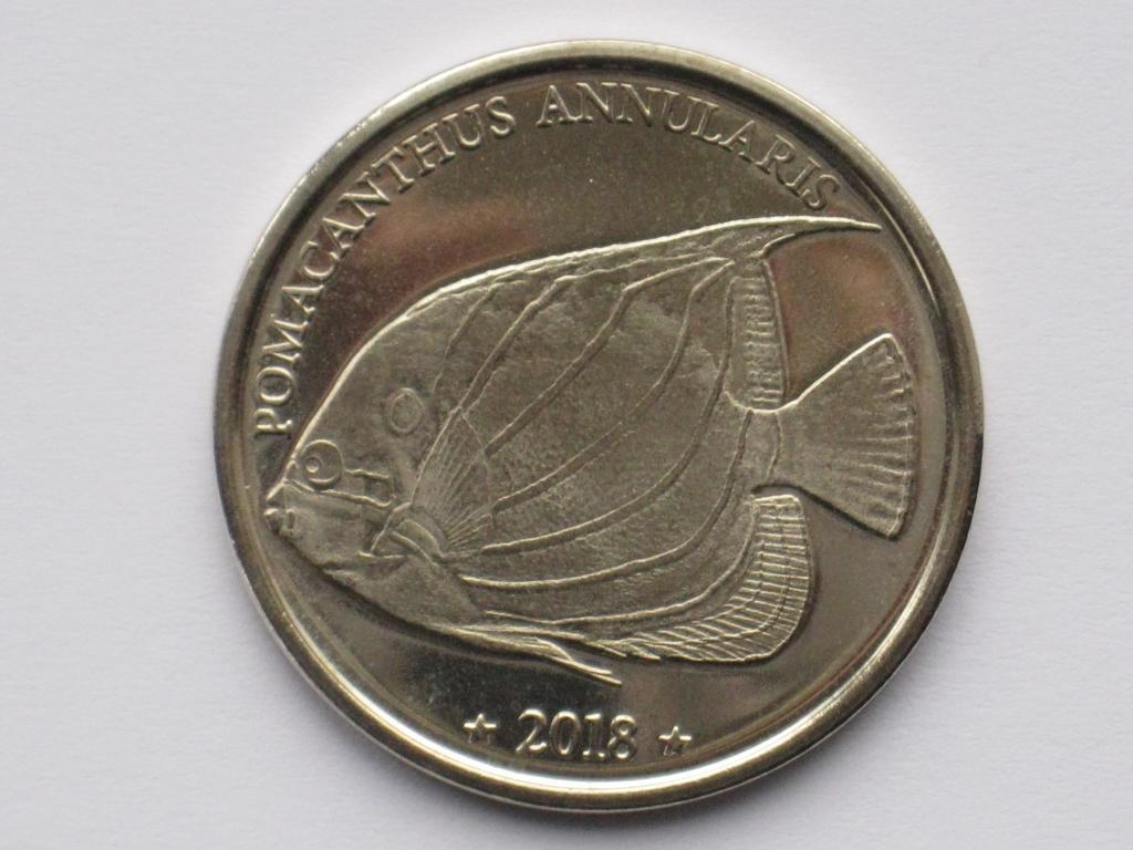 Западное Самоа 10 франков 2018 РЫБКА