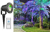 Лазерный проектор STAR SHOWER 8в1 три цвета СУПЕР, фото 1