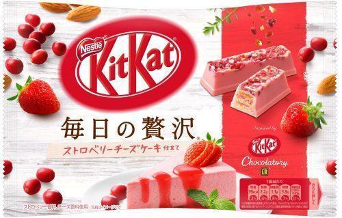 Kit Kat Клубничный Чизкейк