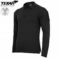 Поло з довгим рукавом Texar Elite Pro Black Size S