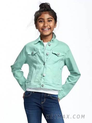 Джинсовая куртка Old Navy для девочки, фото 2