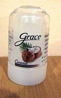 Натуральный дезодорант Кристал с кокосом из квасцов! Grace Coconut Crystal 80г