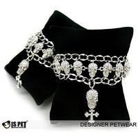"Ожерелье для животных ""Crystal Skull"""