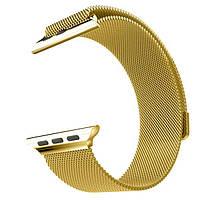 Milanese Loop Gold ремешок 380 мм
