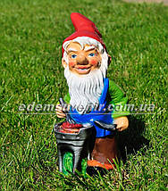 Садова фігура Гноми на пікніку, фото 2