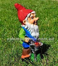 Садовая фигура Гномы на пикнике, фото 3