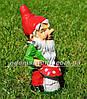 Садовая фигура Гномы на пикнике, фото 2