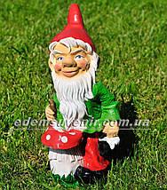 Садова фігура Гноми на пікніку, фото 3