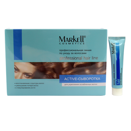 Active-сироватка для зміцнення ослабленого волосся (75мл)