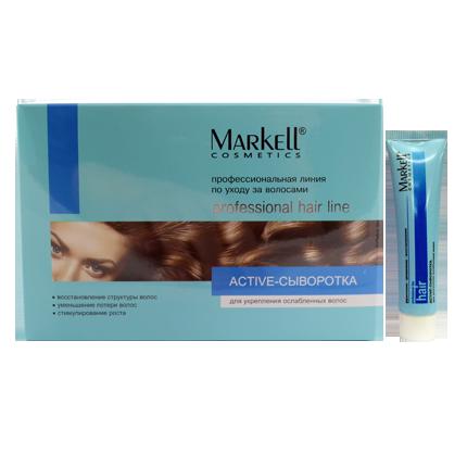 Active-сыворотка  для укрепления ослабленных волос (75мл)