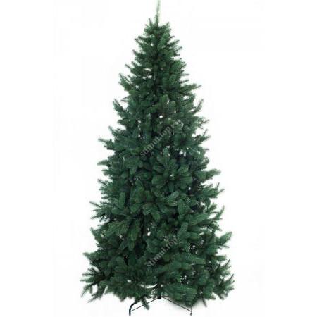 Елка зеленая литая 1.8 метра ✓ Искусственная зеленая ель Премиум ✓ Ели новогодние ПВХ ✓ Ялинка штучна
