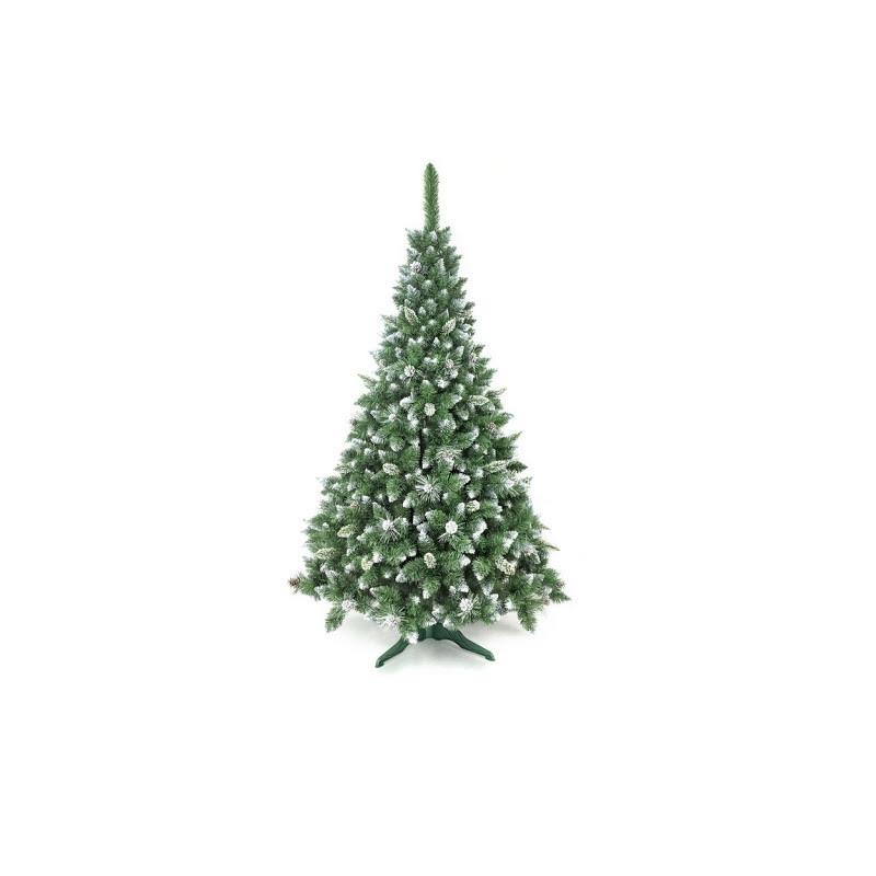 """Искусственная елка сосна """"Роса серебряная""""с шишками, 220см"""