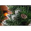 """Искусственная елка сосна """"Роса серебряная""""с шишками, 220см, фото 3"""