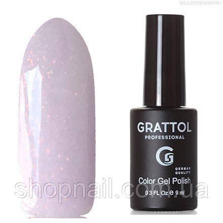 Grattol Color Gel Polish LS Onyx 07 (нежно-сереневый, с блестками)