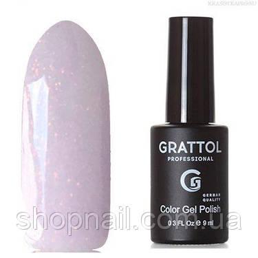 Grattol Color Gel Polish LS Onyx 07 (нежно-сереневый, с блестками), фото 2