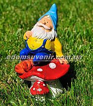 Садовая фигура Гномы в отпуске, фото 2