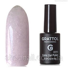 Grattol Color Gel Polish LS Onyx 08 (нежно-лиловый, с микроблестками голографик)