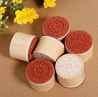 Штампы резиновые для скрапбукинга, украшение упаковки товаров, 3 шт. набор (№ 1,2,3), фото 1