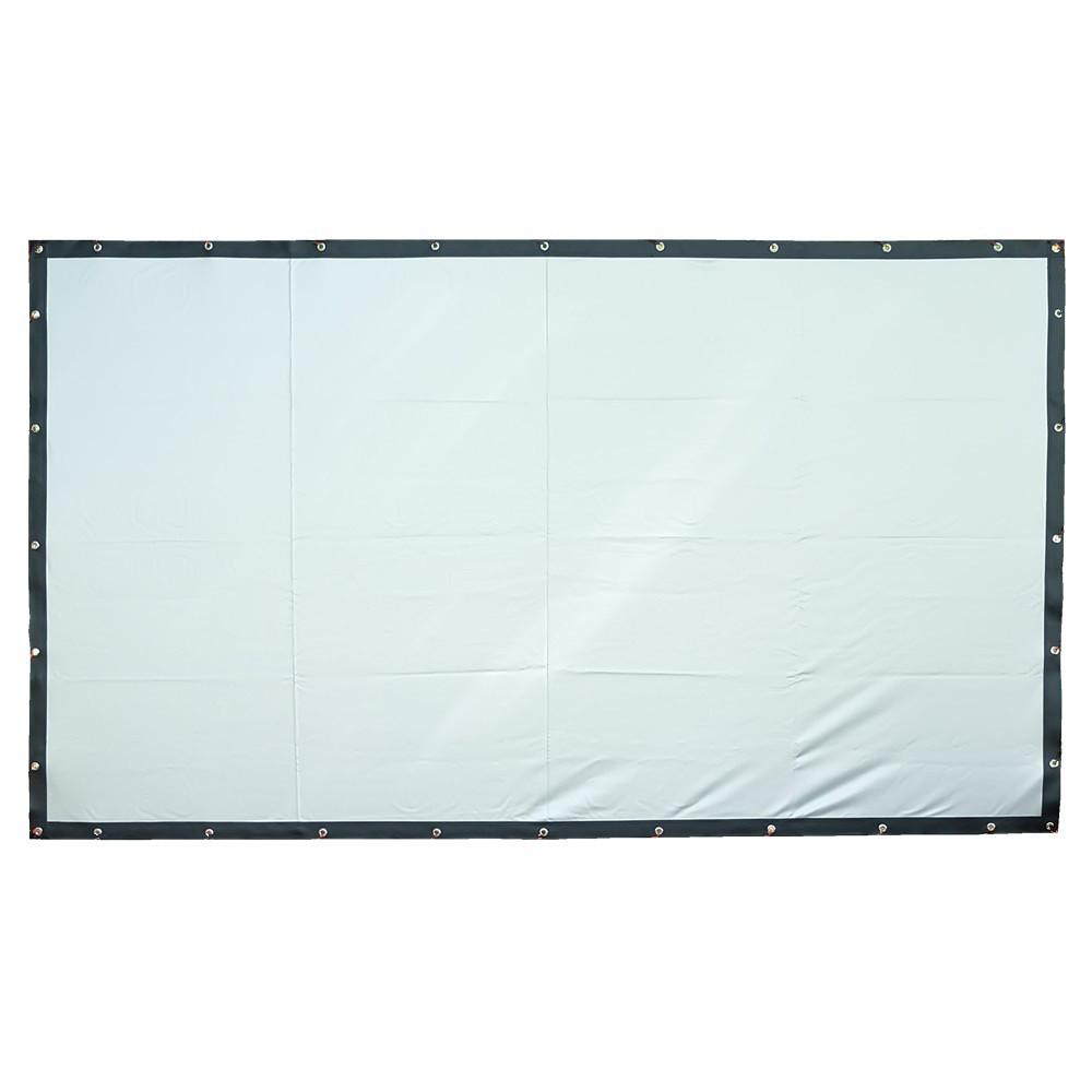 Екран для проектора 72inc / Полотно для проектора / Екран для проектора настінний / Проекційний екран