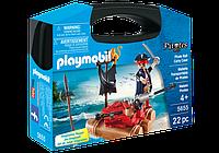 Конструктор Playmobil Возьми с собой: 5655 Пиратский плот