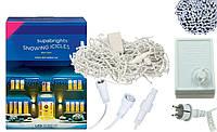 Новогодняя гирлянда Бахрома 500 LED, Белый холодный свет 24 м, 22,5W