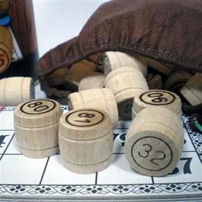 Настольная игра Русское Лото в тубусе, фото 2