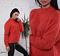 Теплый мягкий укороченный свитер 4182 Турция, фото 1
