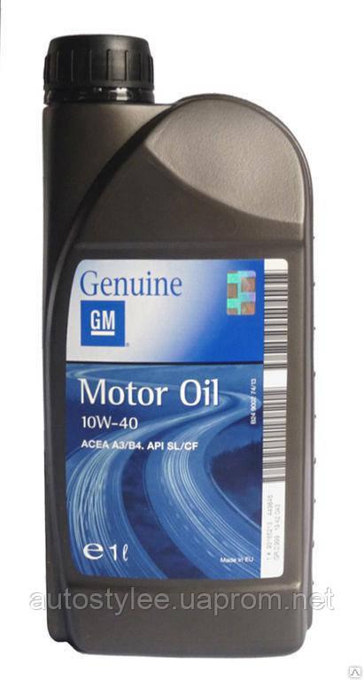 Масло моторное GM Motor Oil 10W-40 (1942043) 1 л.