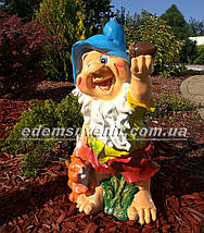 Садовая фигура Гномы средние и Скромница, фото 2