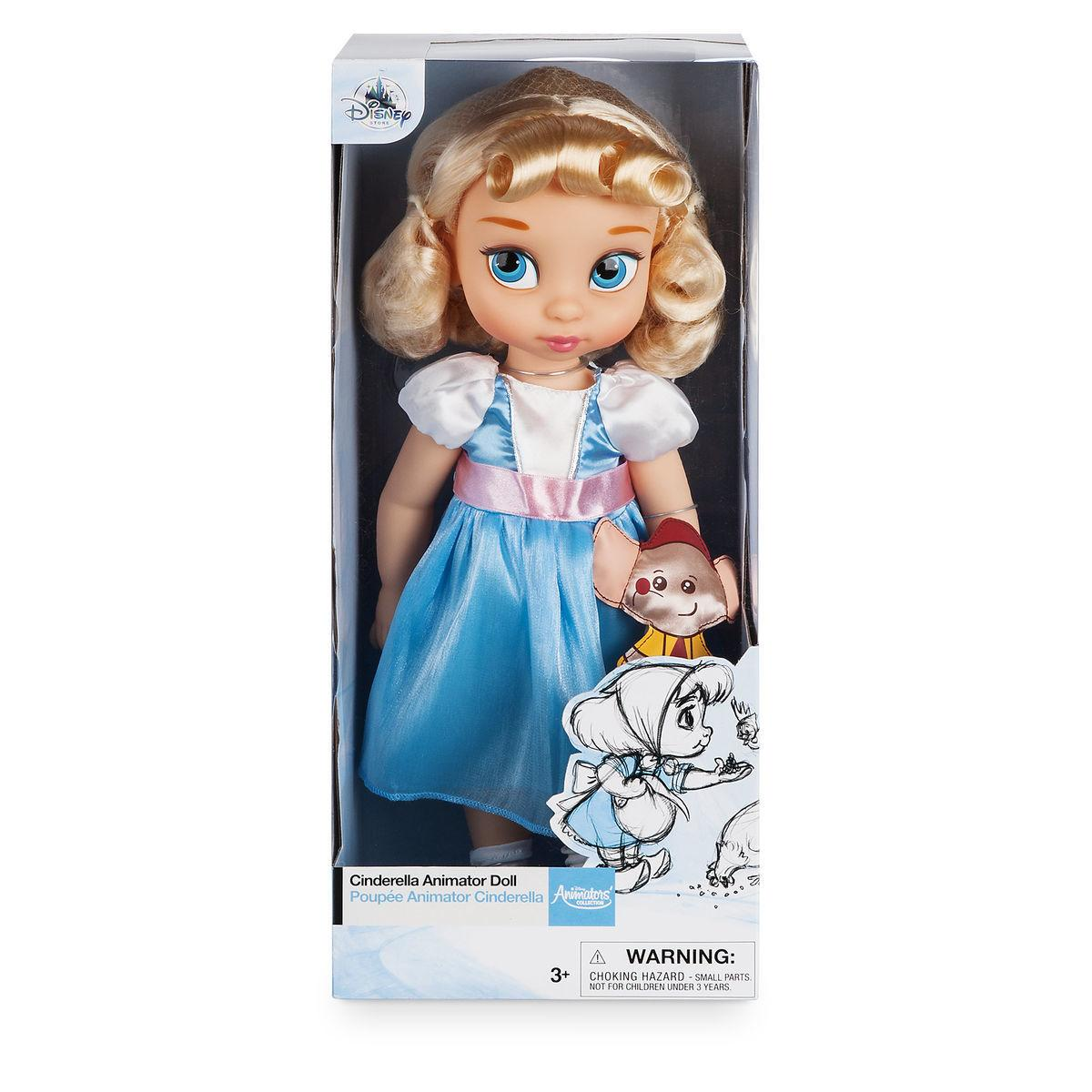 Disney Animators Дисней Аниматор Кукла малышка Синдерелла (Золушка)