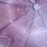 Женский зонт полуавтомат , фото 3