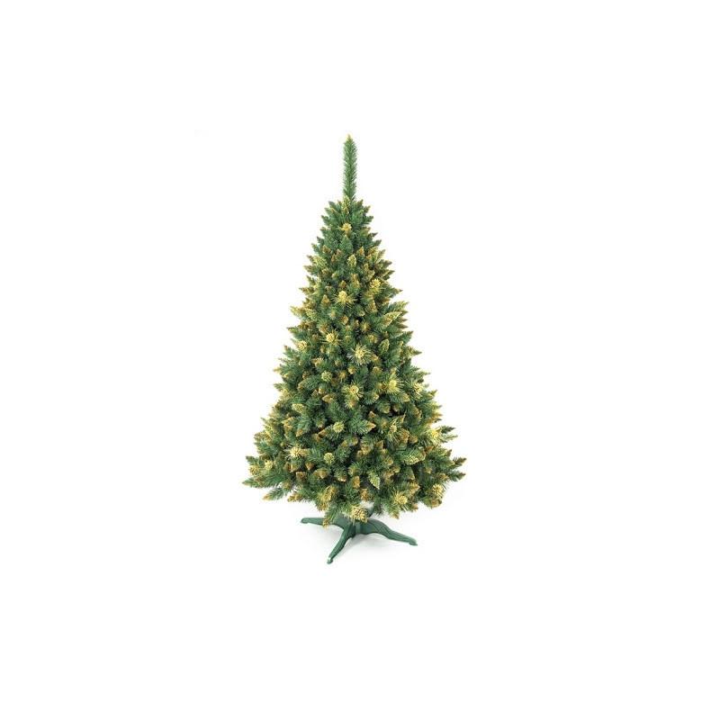 """Искусственная елка сосна """"Роса золотая""""с шишками, 220см"""