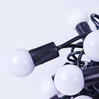 Новогодние шары 50LED,  белый холодный свет, фото 1