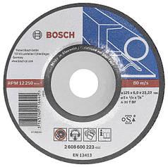 Круг зачистной Bosch 180х6 мет.
