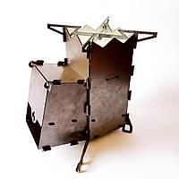 Турбо Печь для кемпинга походная