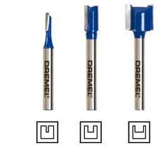 Набор прямых фрез для DREMEL® TRIO™(TR673)