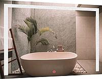 Зеркало SmartWorld Piano с LED подсветкой 70х90х3 см, КОД: 193704