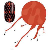 Гель паутинка MOLEKULA (красная) 5 мл