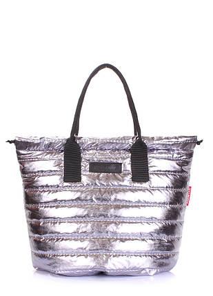 Стеганая сумка на шнурке POOLPARTY Muffin, фото 2