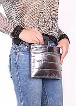 Стеганая сумка POOLPARTY Puffer на пояс/на плечо, фото 2