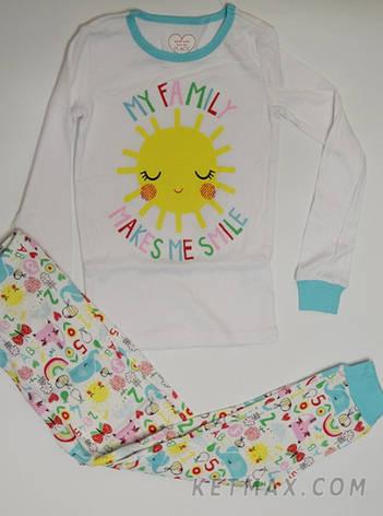 Пижама The Children's place для девочки, фото 2