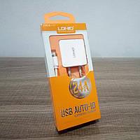 Сетевой адаптер Ldnio 2 USB 2.4А