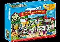 Конструктор Playmobil 9262 Адвент календарь Выходной на конюшне