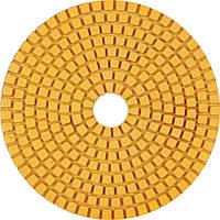 Круг полировальный 100x3x15 №220 Baumesser Standard (зерно №220), гибкий полировальник для гранита и мрамора