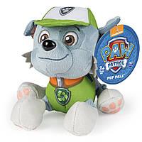Плюшевая игрушка Рокки  Щенячий патруль,Paw Patrol Push Pup Pals