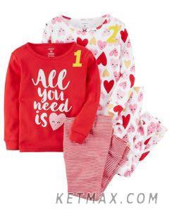 Пижамы Carter's для девочек поштучно, фото 2