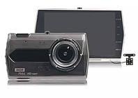 """H506 WDR Full HD 4.3"""" сенсорный (2 камеры) видеорегистратор"""