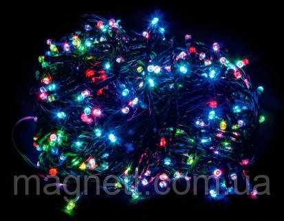 Гирлянда электрическая светодиодная LED 500 лампочек разноцветная