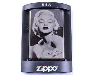 Зажигалка бензиновая Zippo Marilyn Monroe №4222-5